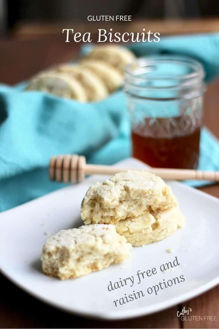 Gluten Free Tea Biscuits | Dairy Free Option | Raisin Option