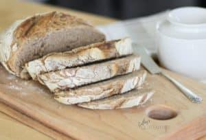 Gluten Free Crusty Artisan Bread CathysGlutenFree.com