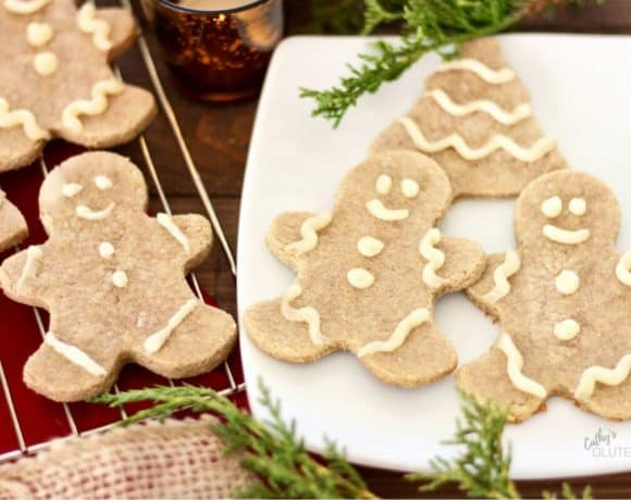 Gluten Free Gingerbread Cookies | CathysGlutenFree.com
