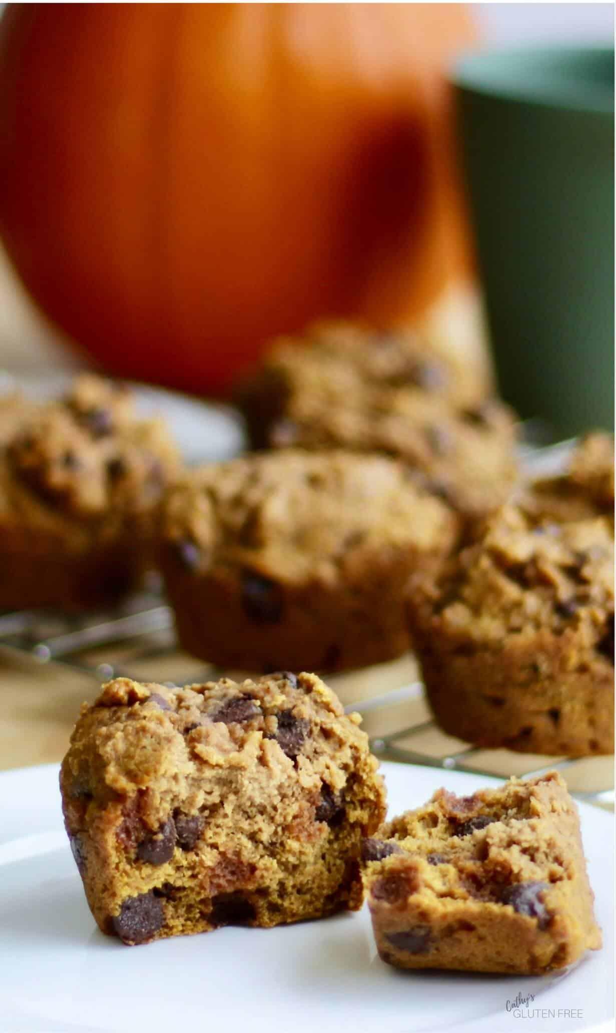 Gluten Free Pumpkin Muffins taste great! CathysGlutenFree.com