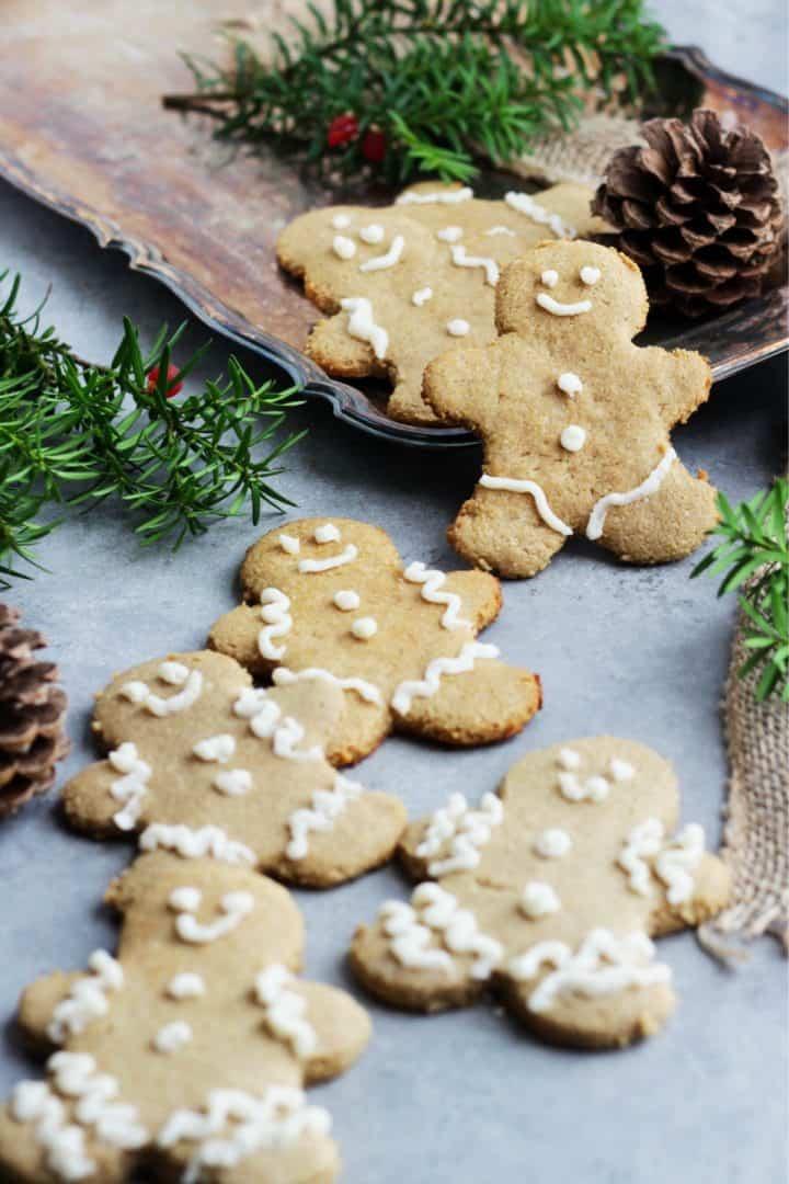 gluten free gingerbread man cookies