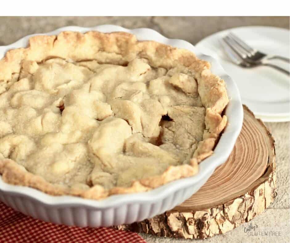 Tender, Flakey, Gluten Free Pie Crust CathysGlutenFree.com