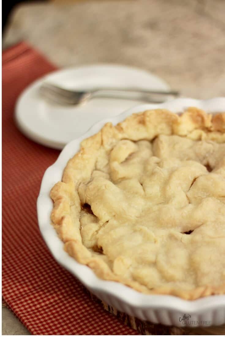 Tender, Flakey Gluten Free Pie Crust CathysGlutenFree.com