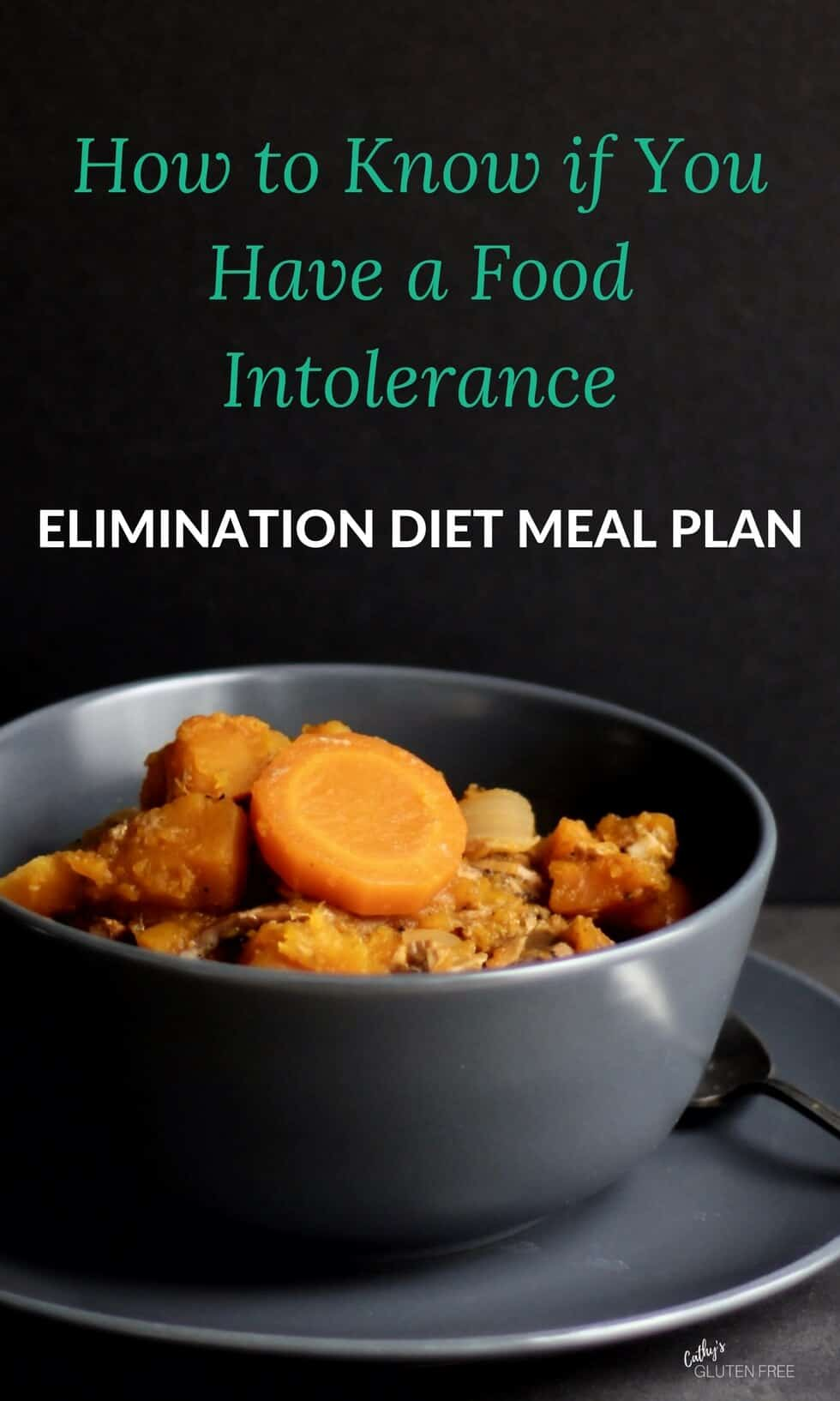 Elimination Diet Meal Plan