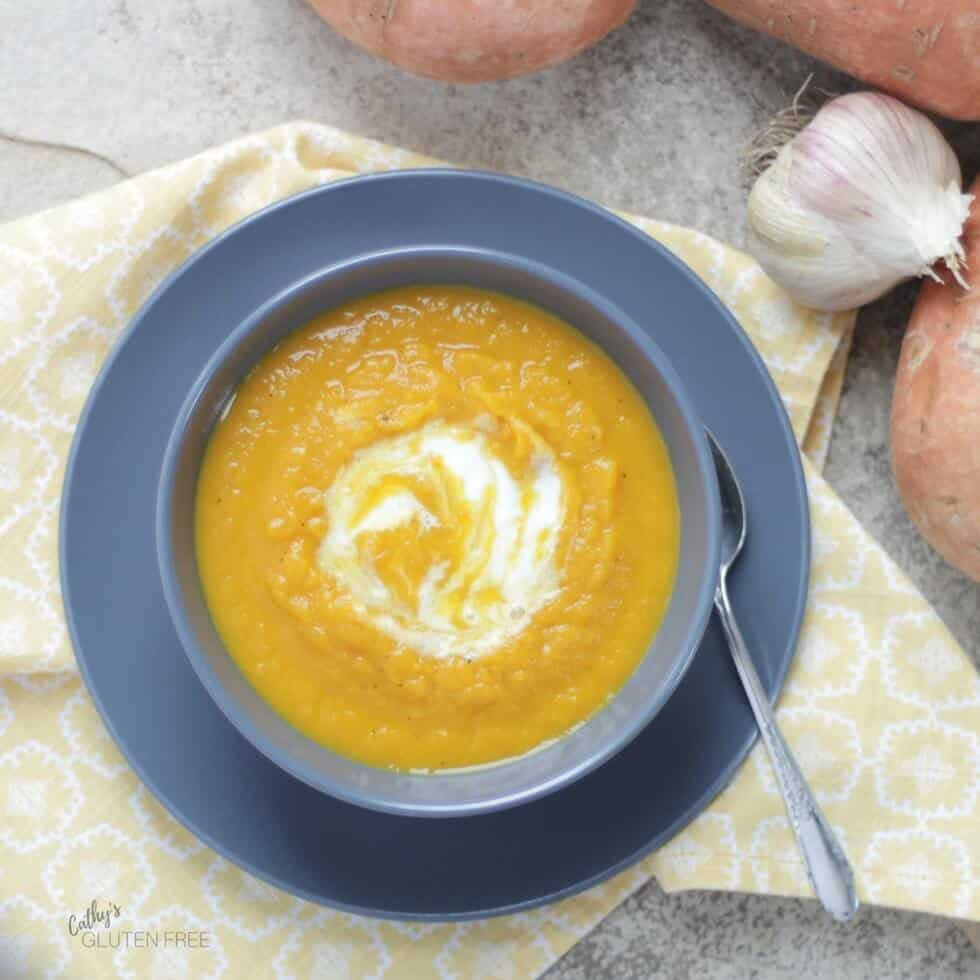 Curried Sweet Potato Soup from the Elimination Diet Meal Plan
