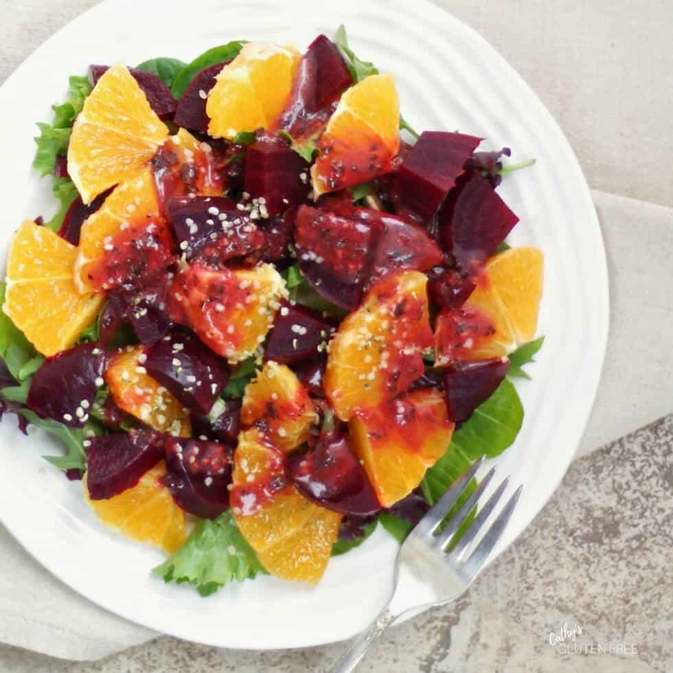 Roasted Beet and Citrus Salad from the Elimination Diet Meal Plan