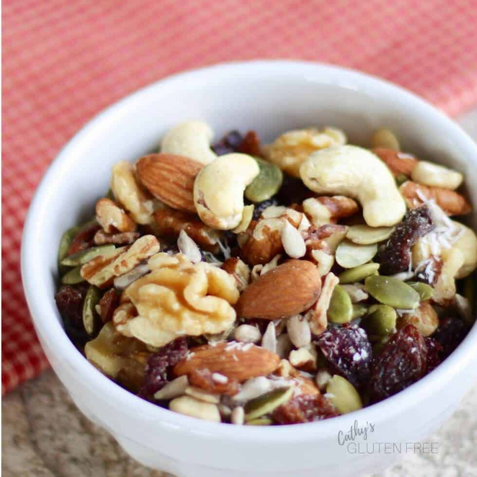 Trail Mix was one of our favourite mid-morning or afternoon snacks on the Elimination Diet Meal Plan.
