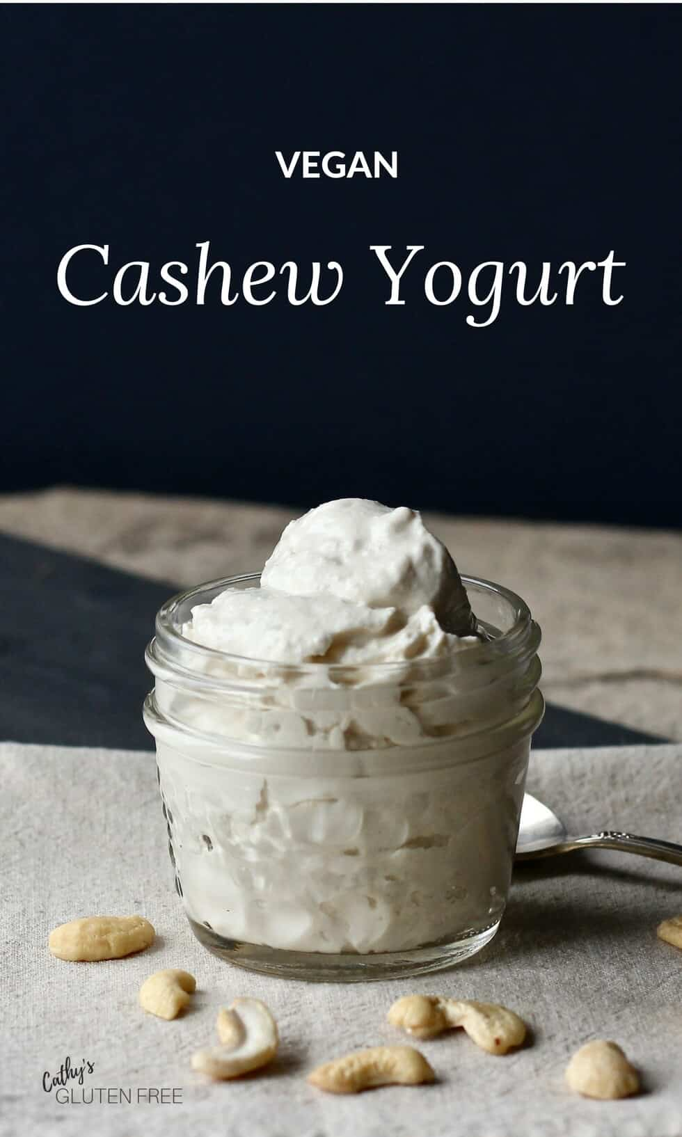 Vegan Cashew Yogurt