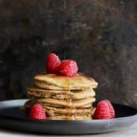 Almond Teff Pancakes