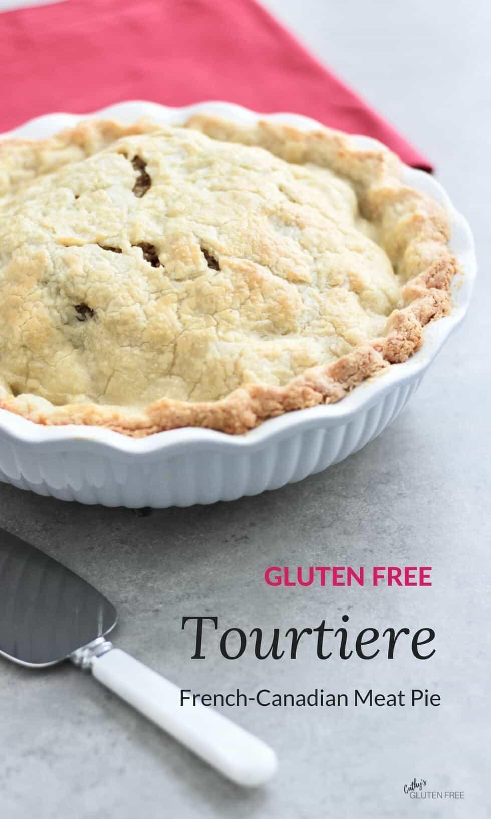 Tourtiere: Quebec Pork Pie | gluten free, nightshade free, dairy free