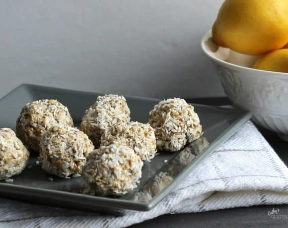 Lemon Coconut Chia Balls