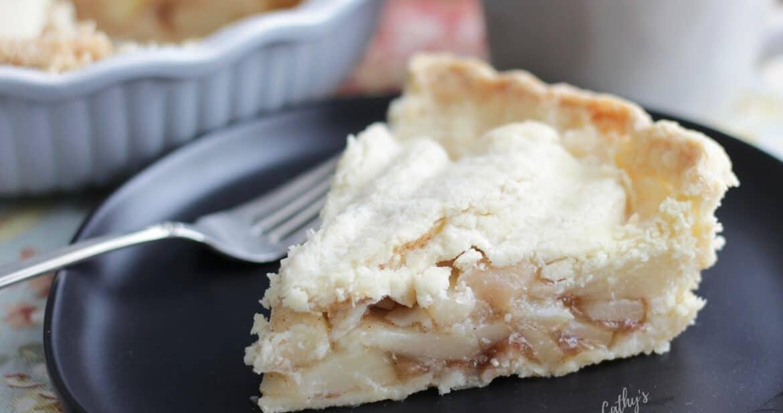 Fresh Pear Pie Made Gluten Free!