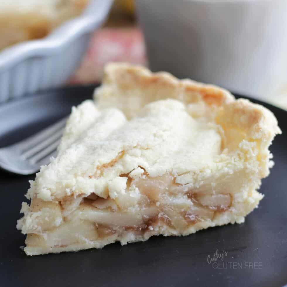 Gluten Free, Dairy Free Pear Pie