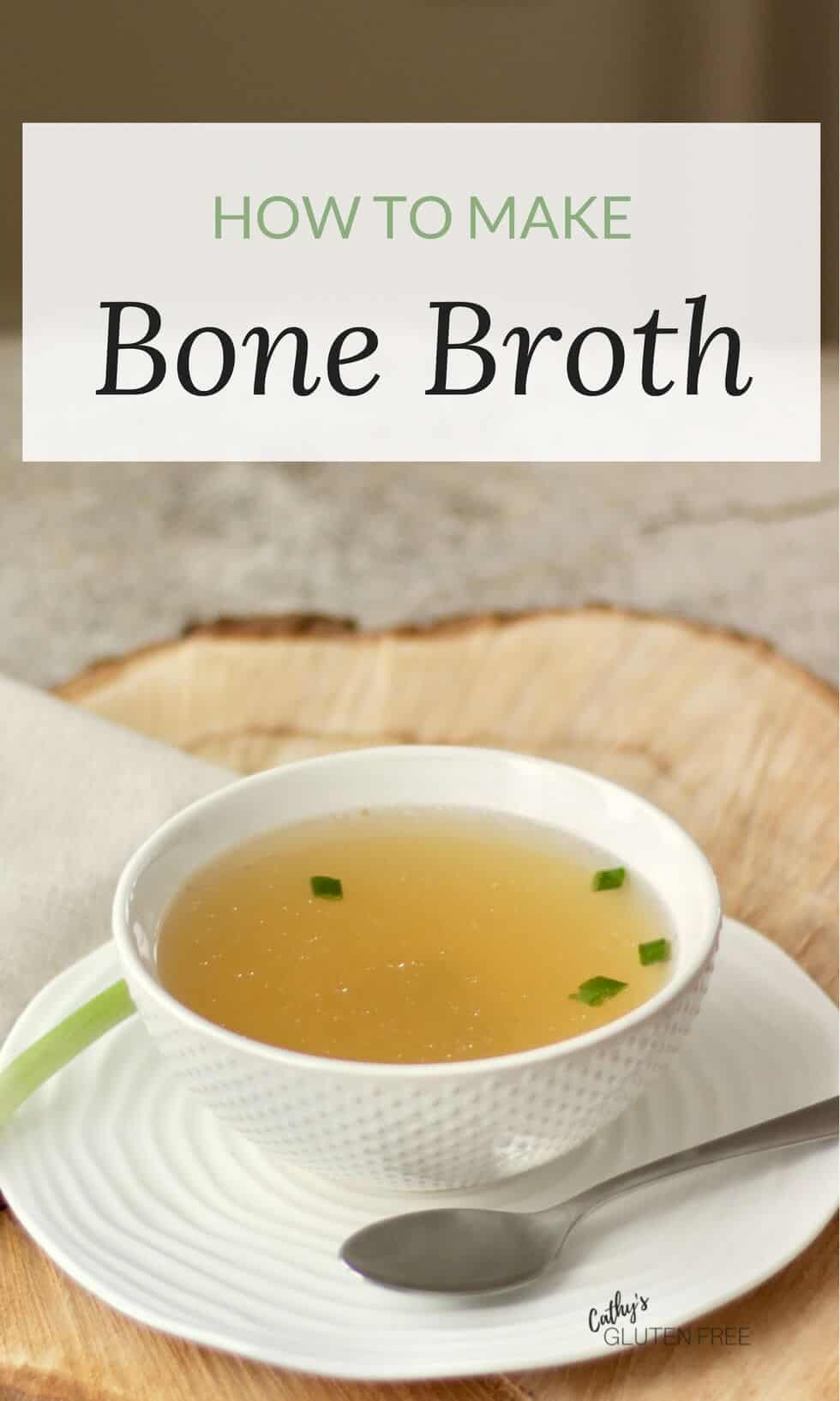 Make your own bone broth.