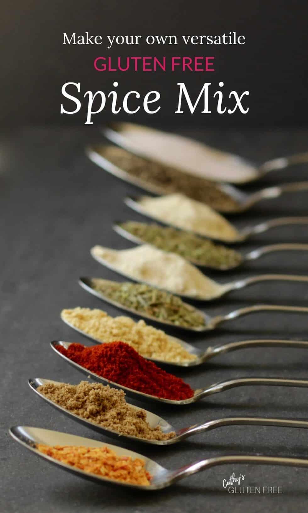 Gluten Free Spice Mix