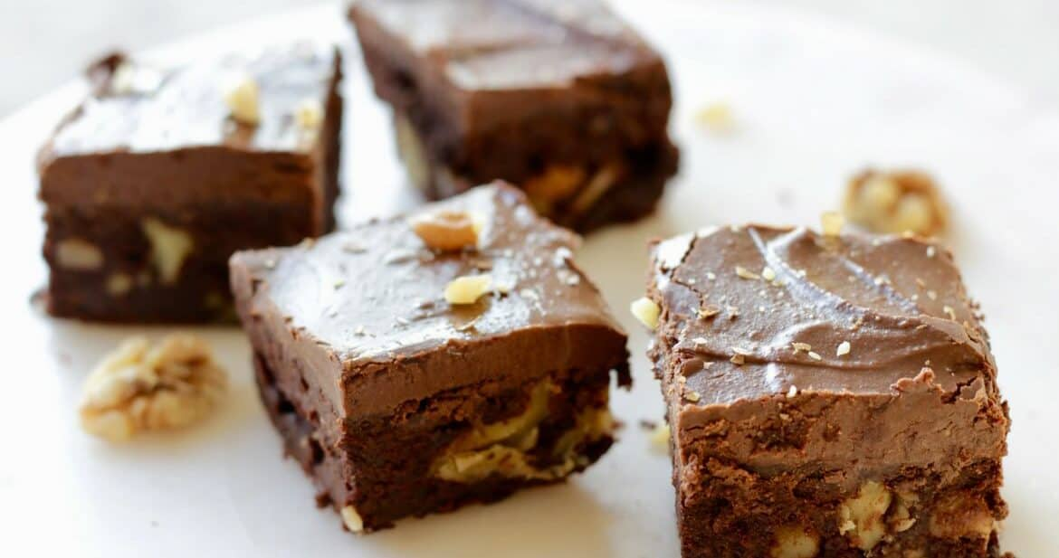 Sweet Potato Gluten Free Brownies