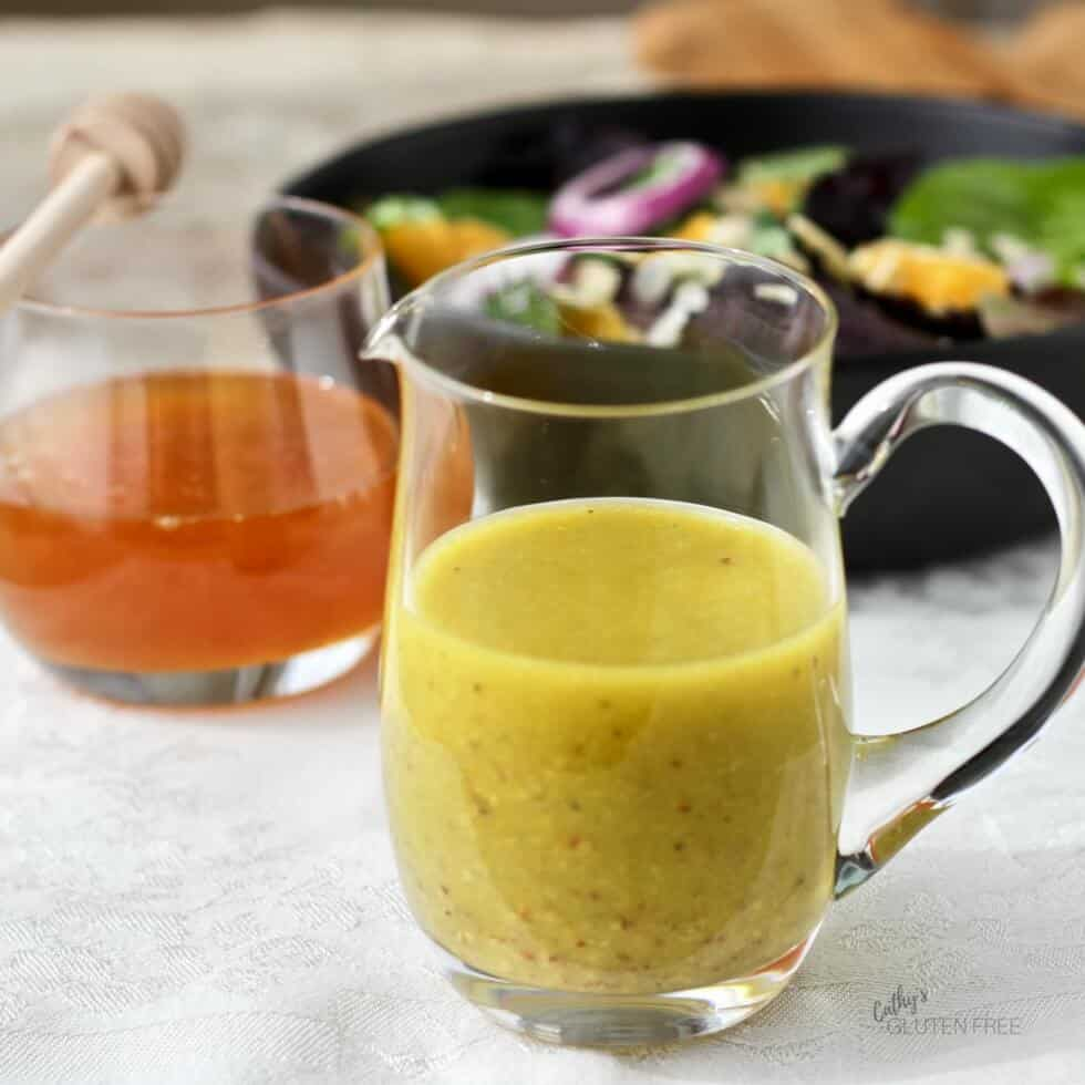 Easy Honey Mustard Salad Dressing