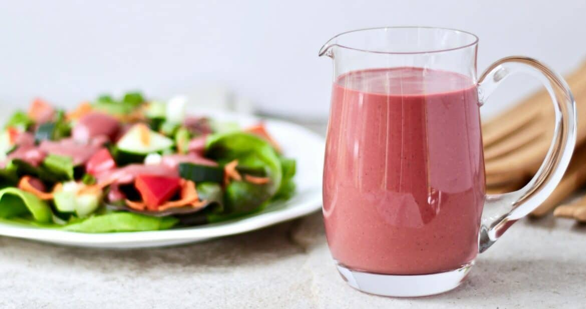 Refined Sugar Free Raspberry Vinaigrette