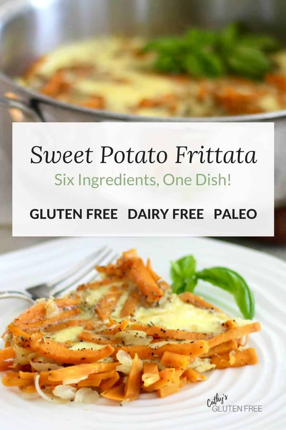 Sweet Potato Frittata is quick and easy to make and tastes delicious!
