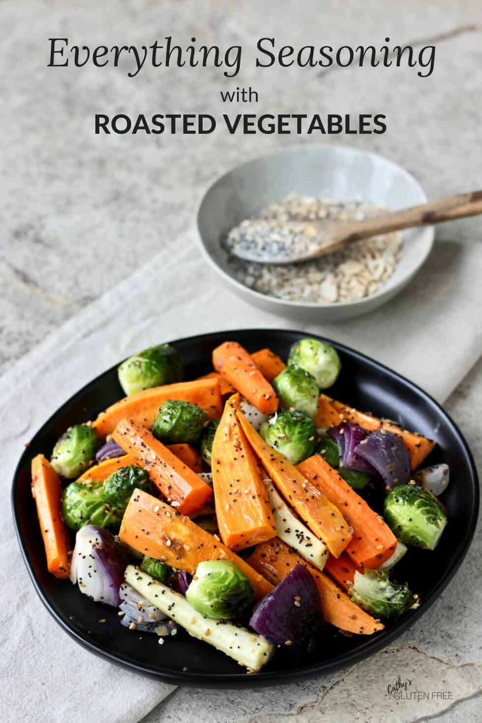 Everything Seasoning is great on roasted vegetables! #glutenfree #grainfree #paleo