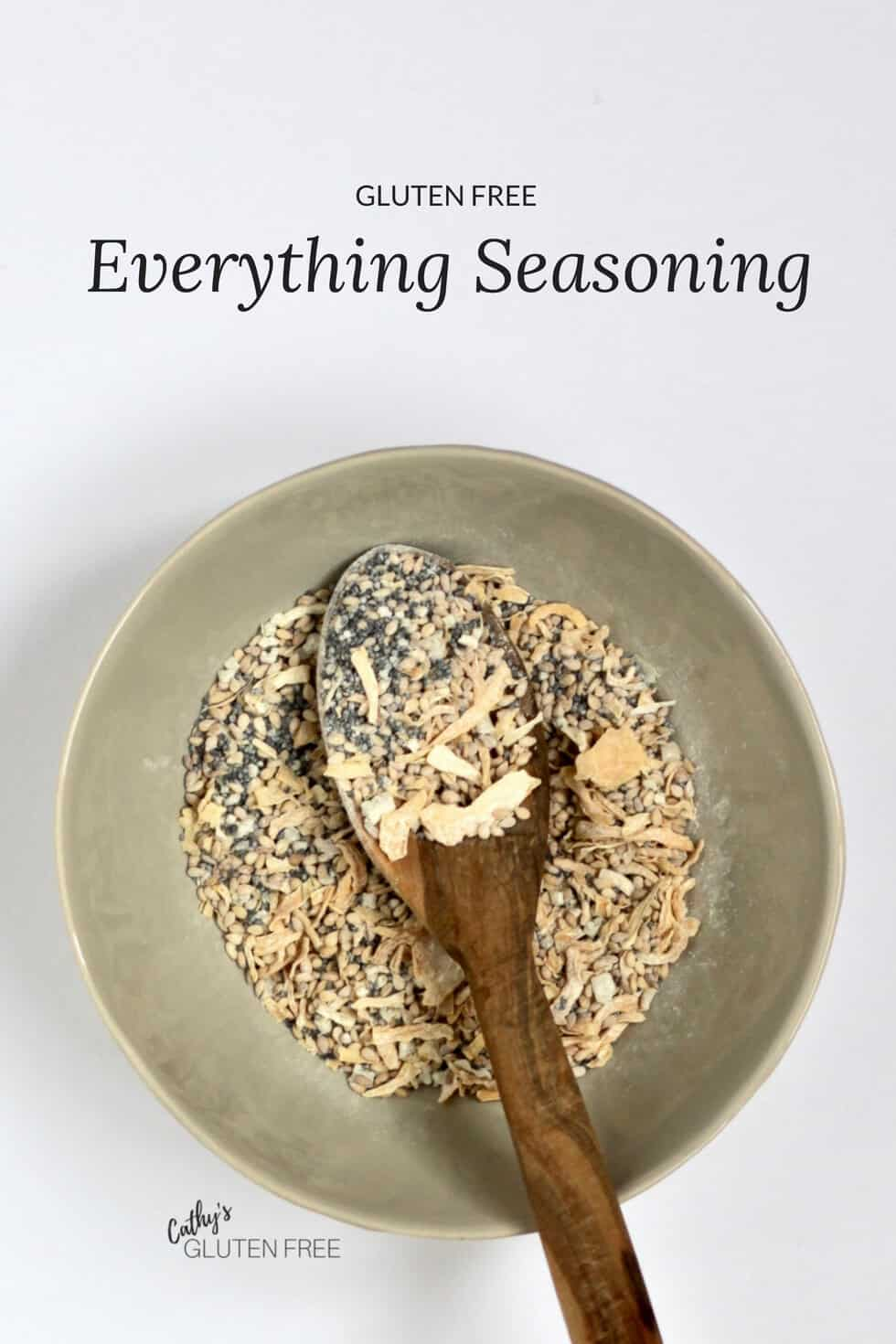 Gluten Free Everything Seasoning is delicious! #glutenfree #grainfree #paleo