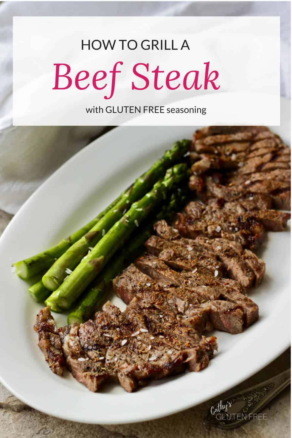 Grilled Beef Steak with Gluten Free Spice Mix #paleo #glutenfree #beef #steak #grill