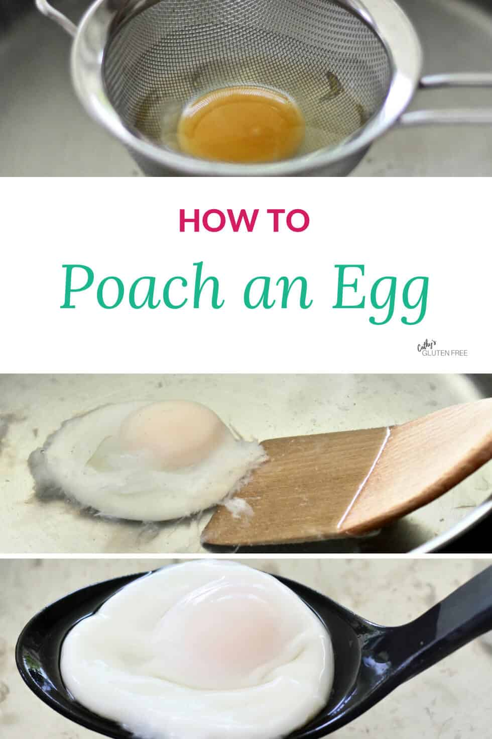 Poached Egg Steps