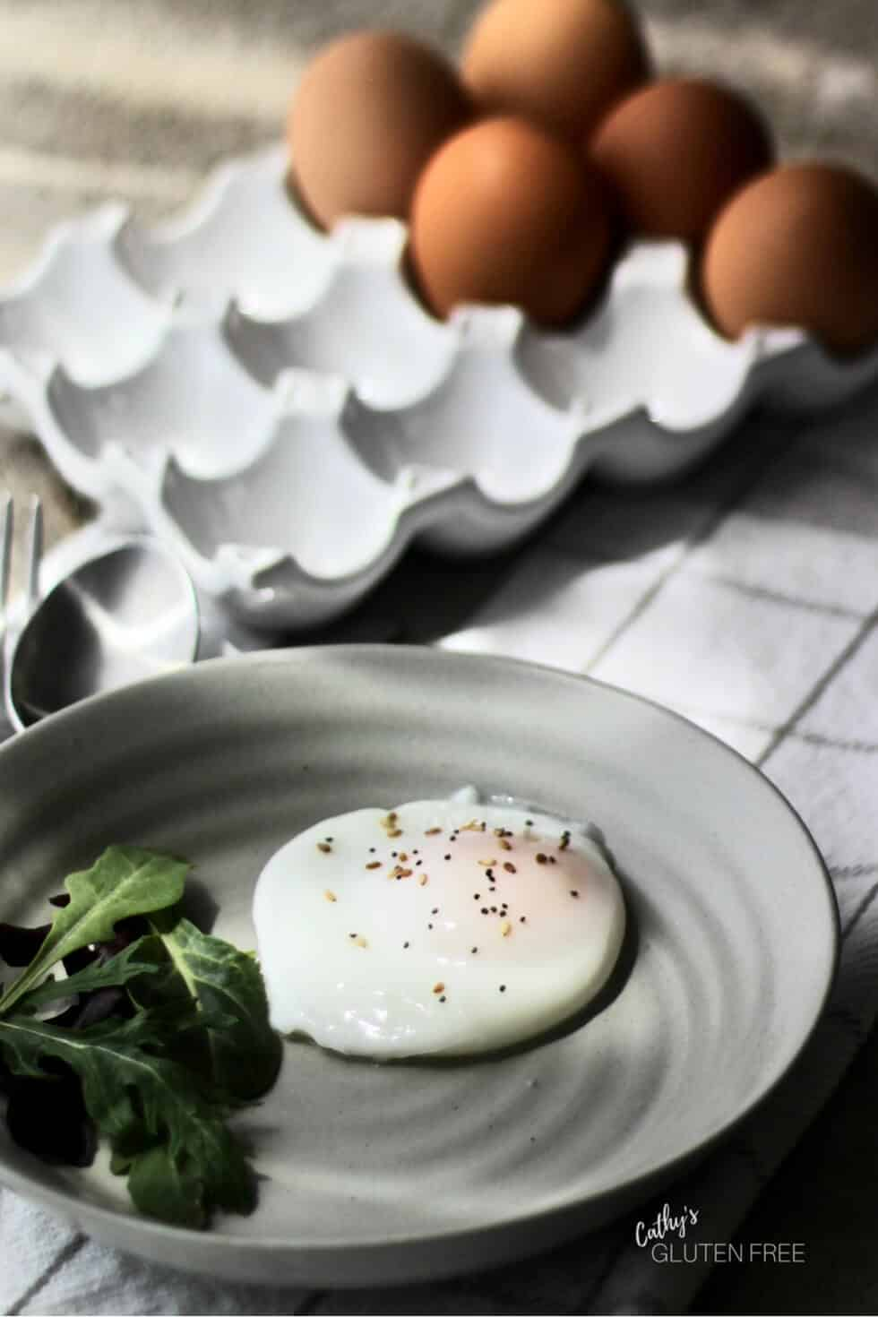 Learn this simple technique for perfectly poached eggs.