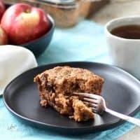 Gluten Free Applesauce Cake