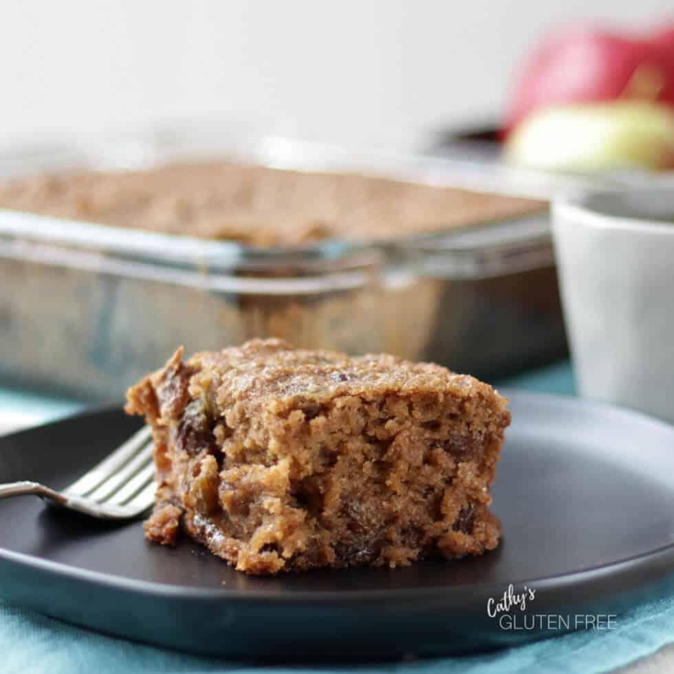 Gluten Free Applesauce Spice Cake Recipe