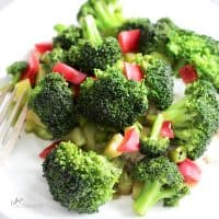 gluten free stir fried broccoli