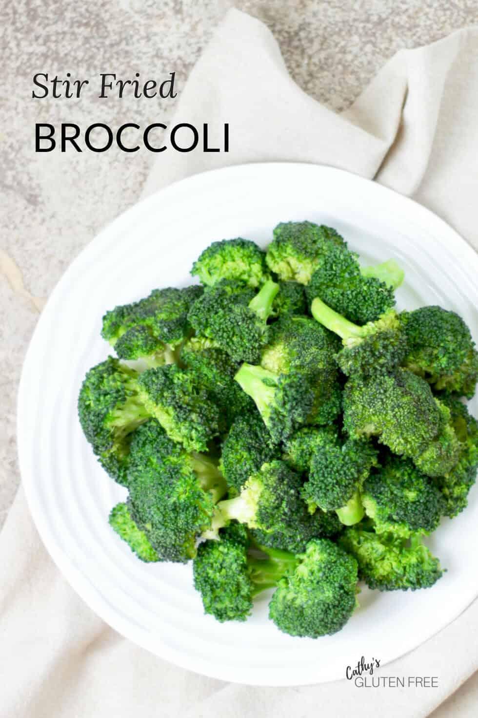 Easy Broccoli Stir Fry with Gluten Free Sauce