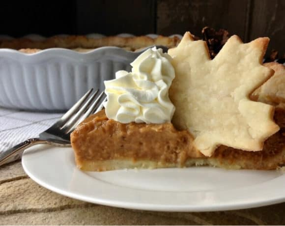 Gluten Free Pumpkin Pie with the Flakiest Crust
