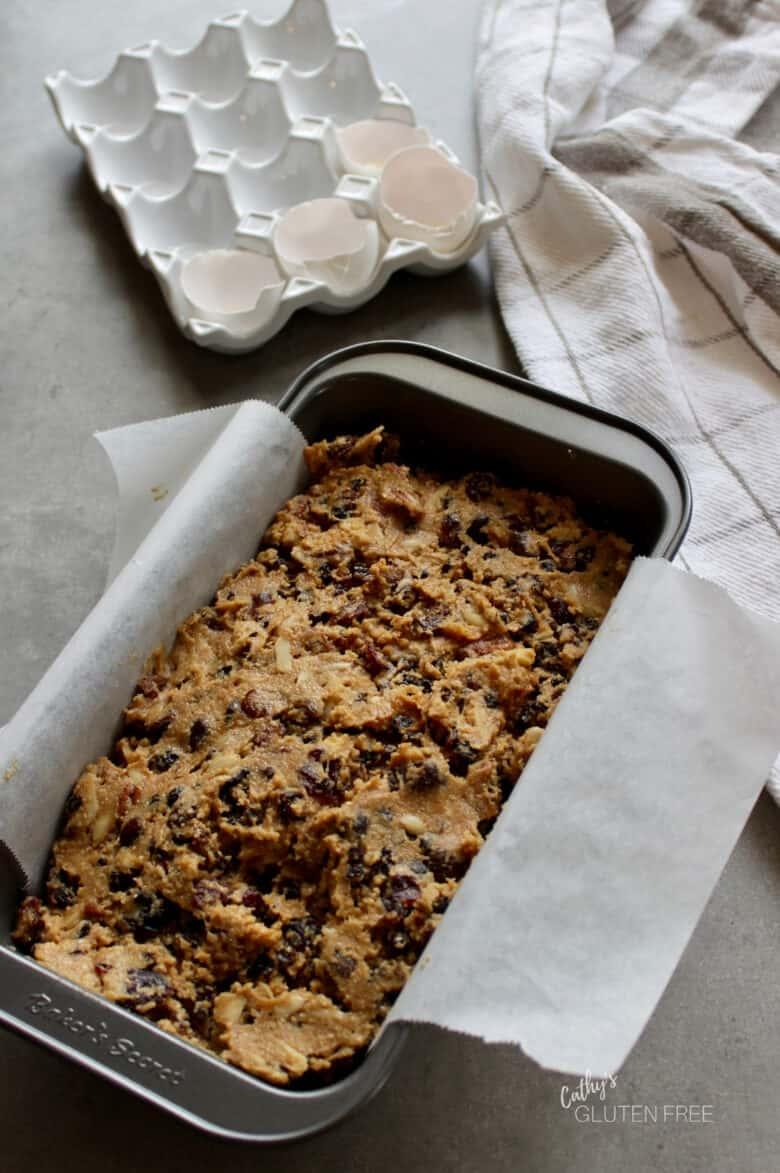 gluten free fruitcake