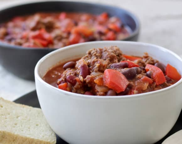 Slow Cooker Chili Made in the Instant Pot