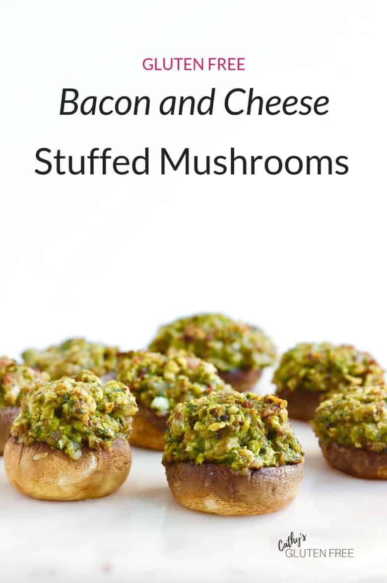 Maple Bacon and Smoked Cheese Stuffed Mushrooms
