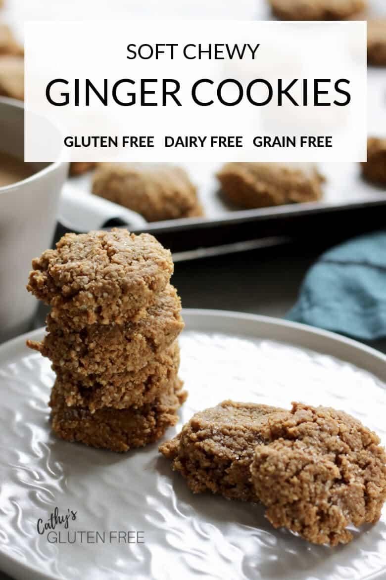 Gluten Free Ginger Cookies