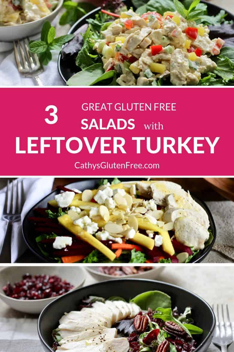 Leftover Turkey Salads