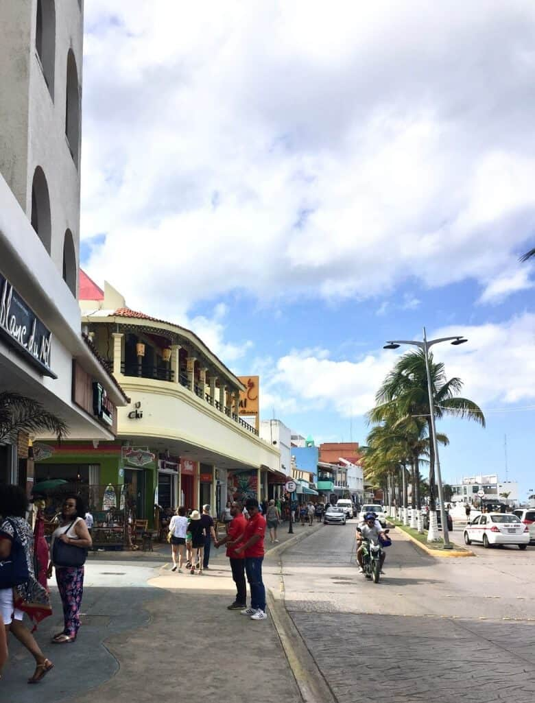 A Street in Cozumel, Mexico