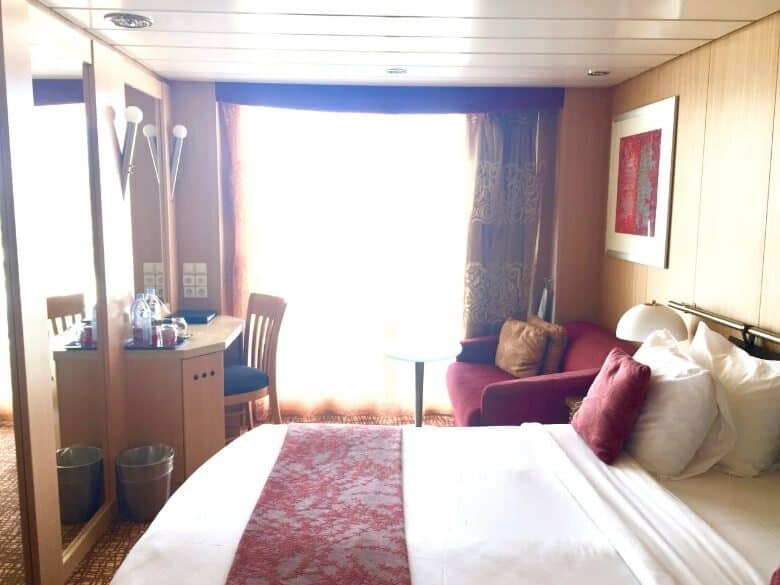 Our Balcony Stateroom on the Celebrity Infinity