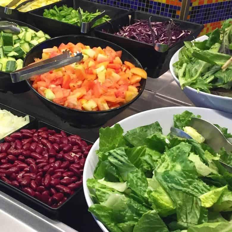 Cruise Buffet Salad Bar
