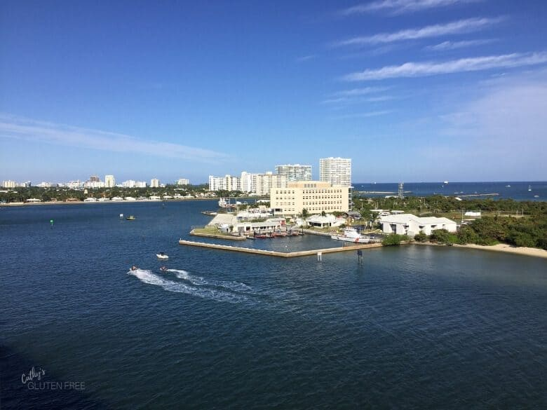 Cruising Away from Fort Lauderdale