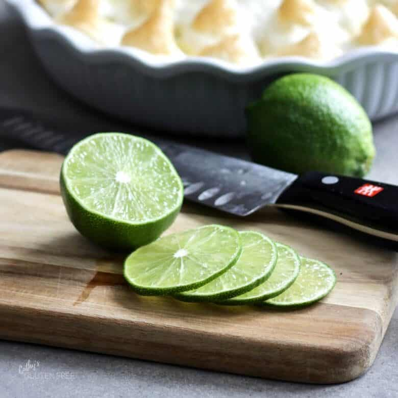 lime and lime slices