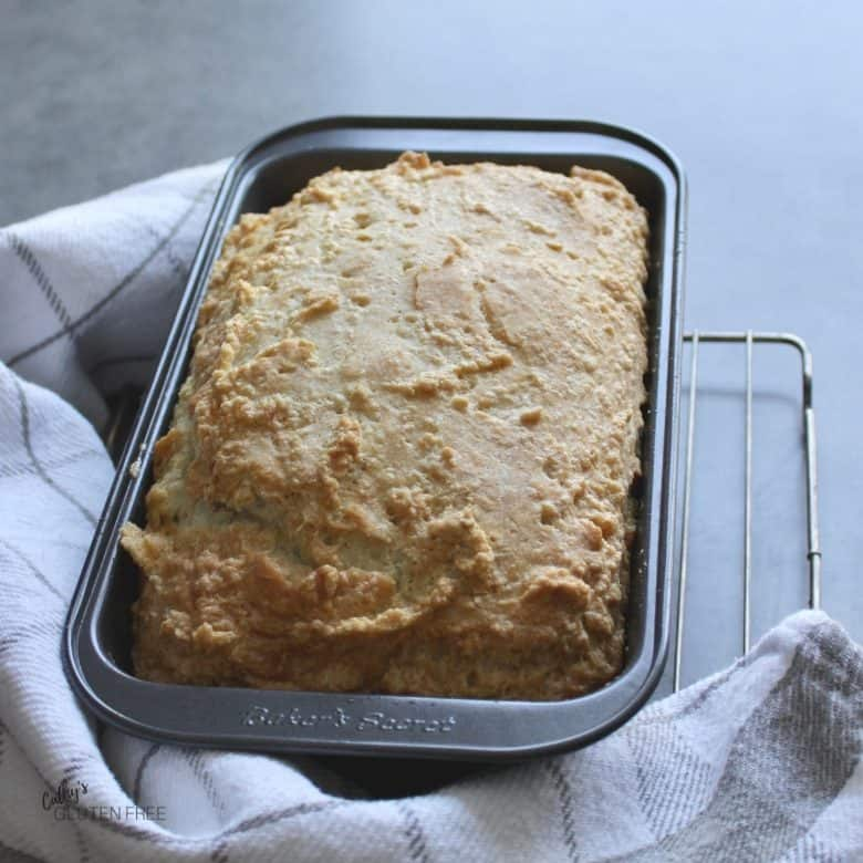 Grain Free, Dairy Free, Nut Free Loaf in Pan
