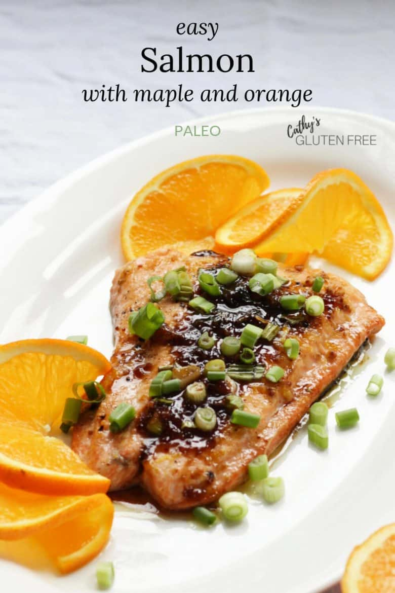 Easy Salmon with Maple and Orange Glaze