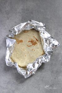 tortillas wrapped in foil