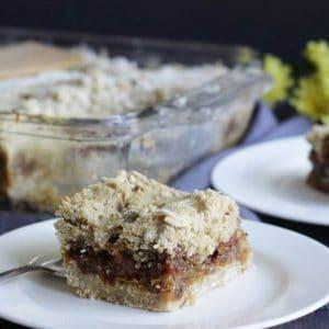 gluten free date squares