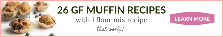 banner with blueberry muffins to the left and text in remaining white space